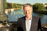 Zac Goldsmith MP is  apart of the 'Get On Board Foundation' on the River Thames in Richmond