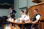 Zac Goldsmith MP hosts public meeting with the Police, in order for the public to pose questions and proposals to both Zac and the Police in order to tackle crime